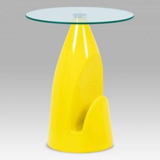 Odkládací stolek AF-2063 YEL žlutý Autronic