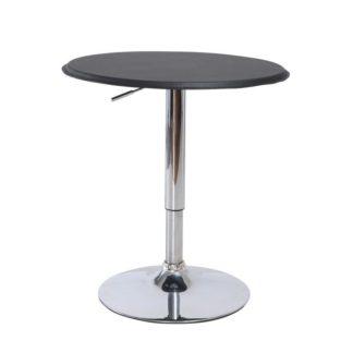 Barový stůl otočný BRANY černá / chrom Tempo Kondela