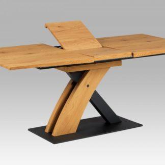 Jídelní stůl HT-701 OAK divoký dub / černá Autronic
