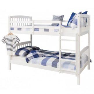 Dětská dvoupatrová postel Ravelo bílá - TempoKondela