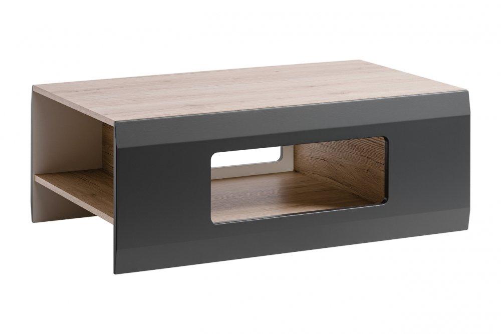 Konferenční stolek Clif san remo/grafit mat - HALMAR