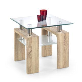 Konferenční stůl DIANA H čtverec dub sonoma Halmar