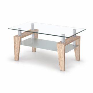 Konferenční stolek BETTY dub san remo Halmar