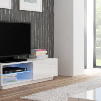 TV stolek Livo RTV-120S bílý - HALMAR