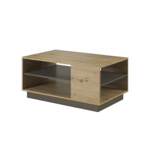 Konferenční stolek, dub artisan / šedý grafit, CITY 0000239449 Tempo Kondela