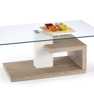 Konferenční stůl EVELIN dub sonoma Halmar