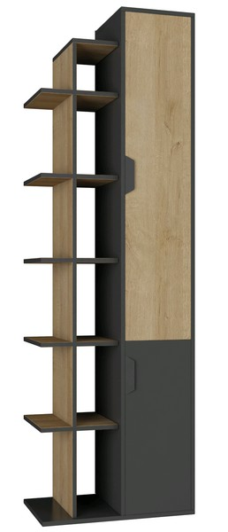 Vysoký regál s dveřmi Nano 4
