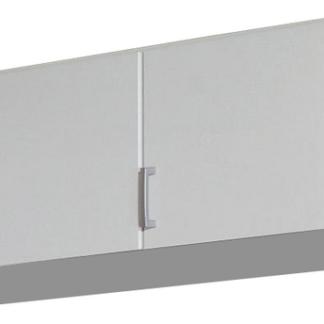 Skříňový nástavec Bremen, 136 cm, bílý