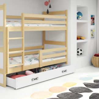 Dětská patrová postel Rico borovice - BM