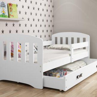 Dětská postel Classic 160x80 bílá - BM
