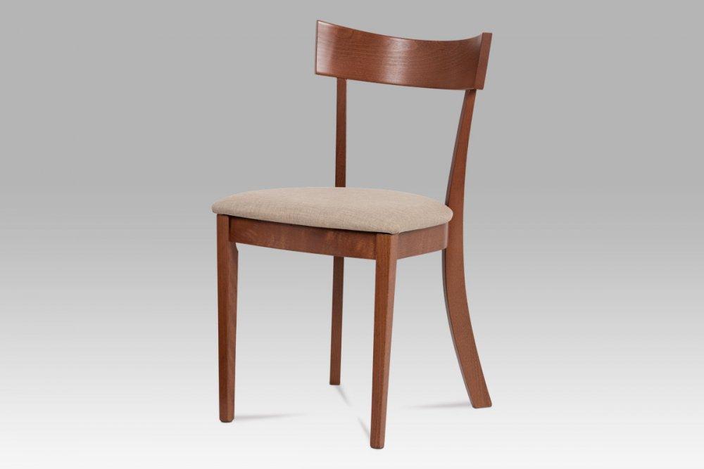 Jídelní židle BC-3333 TR3 třešeň / krémová Autronic