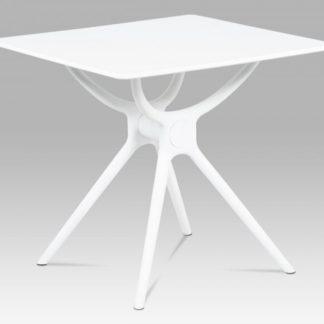 Jídelní stůl 80x80 DT-751 WT bílá Autronic