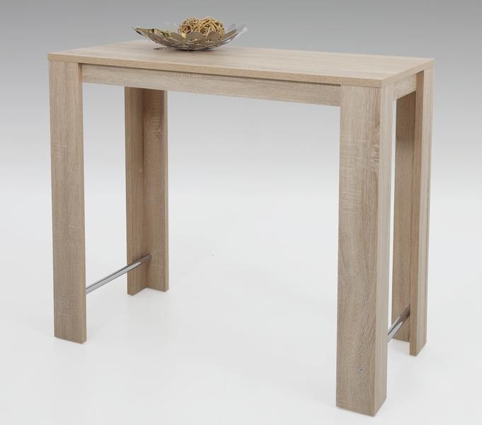 Barový stůl Frieda 120x58 cm, dub sonoma