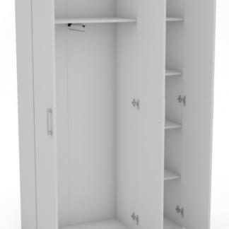 Víceúčelová skříň Nitro 3DW, bílá