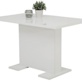 Jídelní stůl Wiebke 120x80 cm, rozkládací