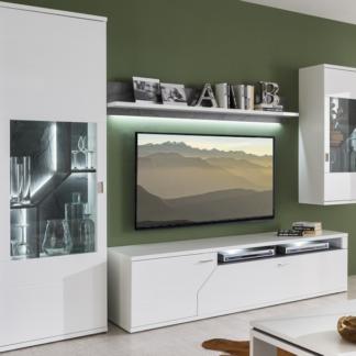 Obývací stěna Taviano, s osvětlením