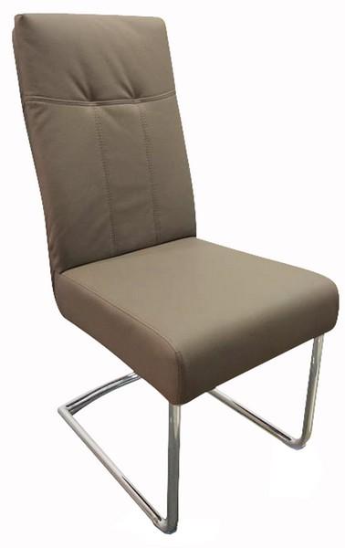 Jídelní židle Loreta, cappuccino ekokůže
