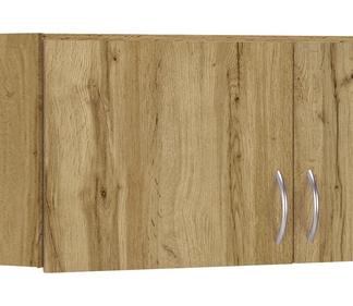 Rohový skříňový nástavec Case, dub wotan