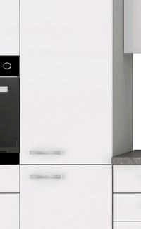 Vysoká kuchyňská skříň Bianka 40DK, 40 cm