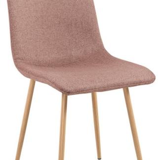 Jídelní židle Bjorn, hnědá látka
