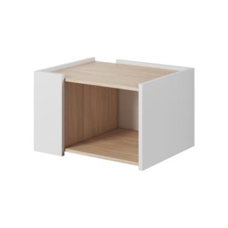 Konferenční stolek, dub jantar / bílý mat, Luis 0000239429 Tempo Kondela