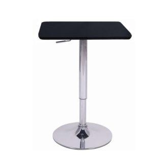 Barový stůl s nastavitelnou výškou, černá, 86-105, FLORIAN 0000252186 Tempo Kondela