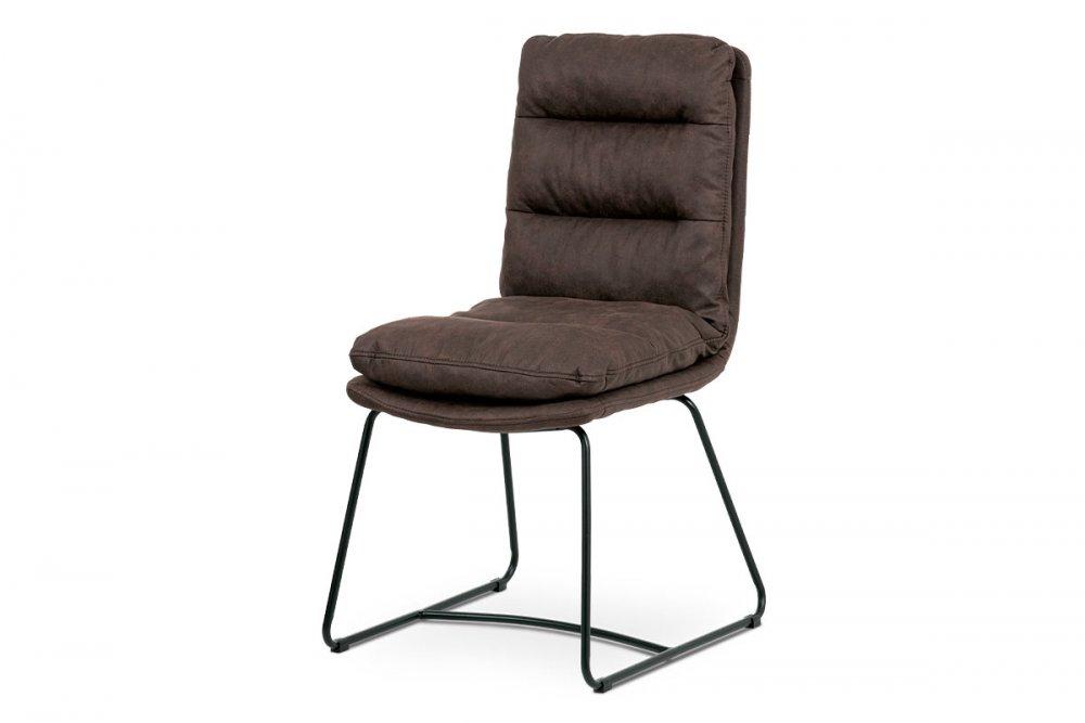 Jídelní židle HC-460 Autronic hnědá