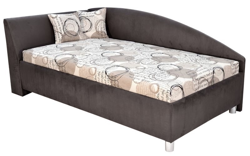 Rohová postel ANDREW levá 110x200