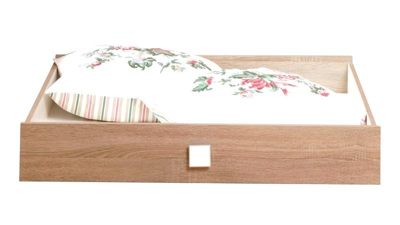 Úložná zásuvka pod postel Pingu AS-30, dub sonoma