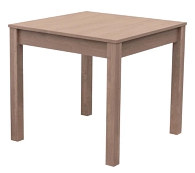 Jídelní stůl David 80x80 cm, dub sonoma