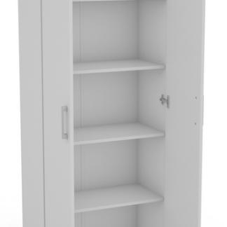 Víceúčelová policová skříň Nitro 3, bílá