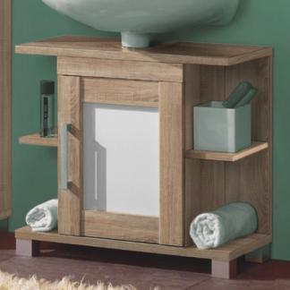 Koupelnová skříňka pod umyvadlo Poseidon, dub Sonoma