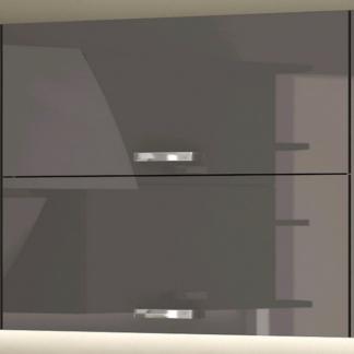 Horní kuchyňská skříňka Grey 80GU, 80 cm