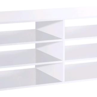Regálek/pořadač Calvia 15, bílá