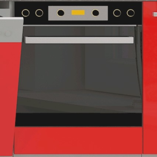 Kuchyňská skříňka pro vestavnou troubu Rose 60DG, 60 cm