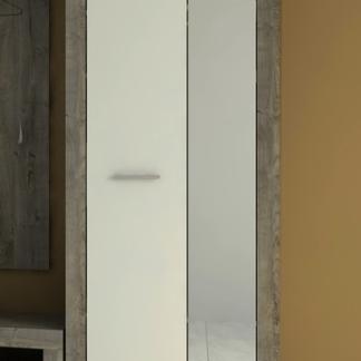 Předsíňová skříň Askon 48, dub ribbeck/bílá