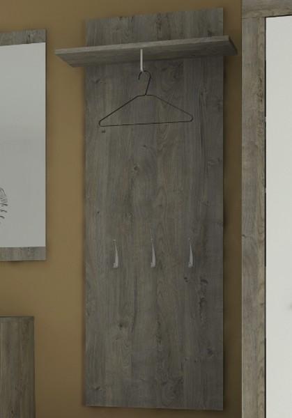 Věšákový panel Askon 51, dub ribbeck