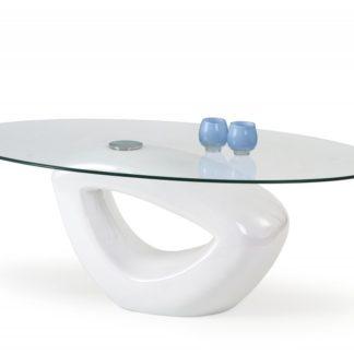 Konferenční stůl JASMIN bílá Halmar