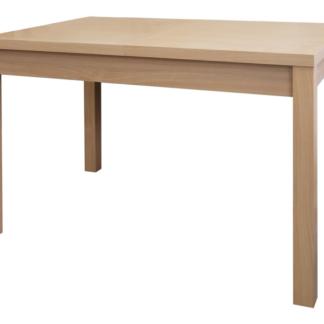 Jídelní stůl Adam 120x80 cm, buk, rozkládací
