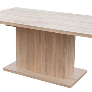 Jídelní stůl Paulo 160x90 cm, dub sonoma, rozkládací