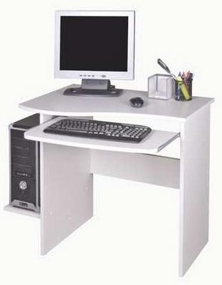 PC stůl Maxim, bílý