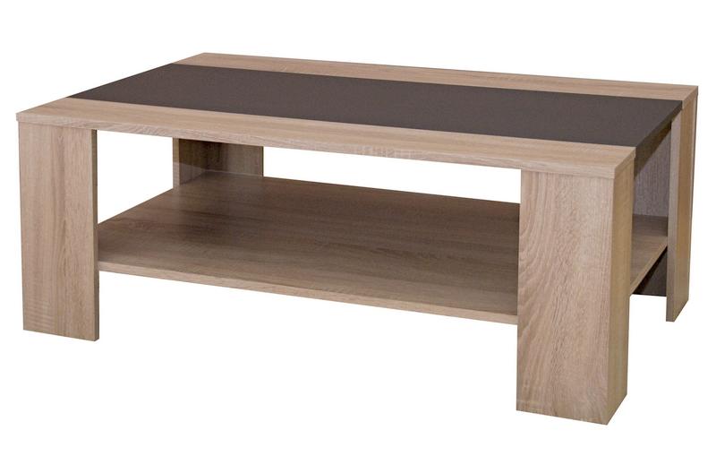 Konferenční stolek AS-56, dub sonoma/antracitová