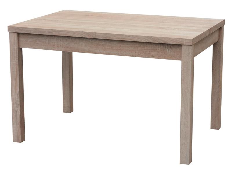 Jídelní stůl Adam 120x80 cm, dub sonoma, rozkládací