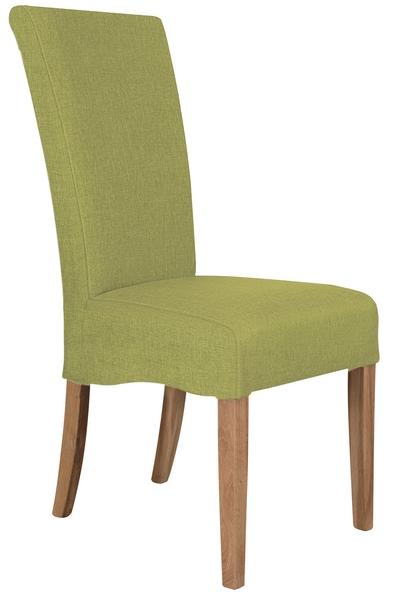 Jídelní židle Roberta, zelená látka