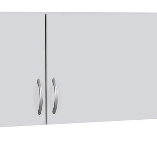 Skříňový nástavec Case, 136 cm, bílý