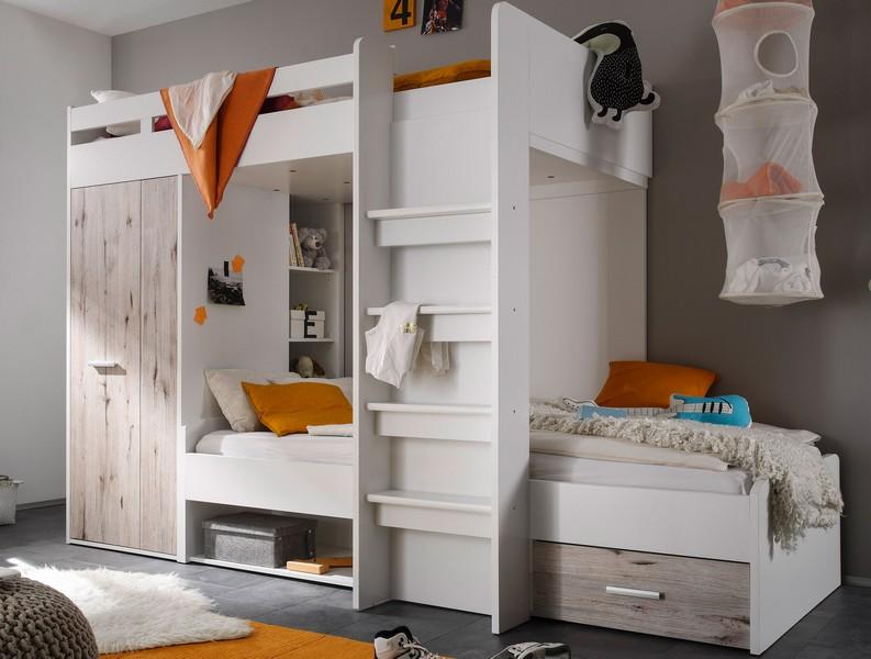 Dvoupatrová úložná postel Maxi