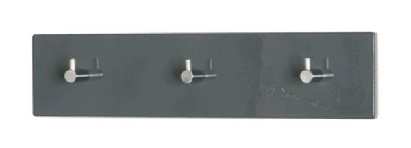 Nástěnný věšák Edmond 42156, šedý lesk
