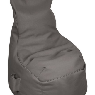 Dětský sedací vak Monza, tmavě šedý