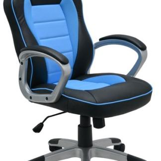 Kancelářské křeslo Star, černé/modré