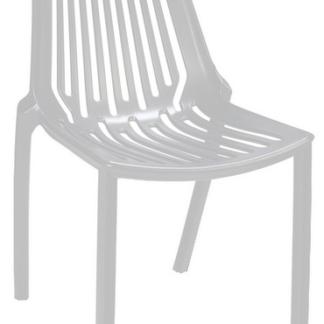 Jídelní židle Linear, bílá